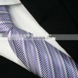 2015 latest hot sale gradually changing color men's 100% silk jacquard tie