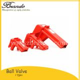 BO-F02 ADJUSTABLE BALL VALVE LOCKOUT all colors are available