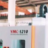 YMC1210 Economic type good price Mini Small size Double Column CNC Milling Machine