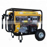 industrial home use swiss craft astra korea manual electric generator gasoline key start gasoline generator with wheel