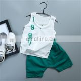 Wholesale 2018 New Fashion Baby Boy Outfits Summer Clothing Set
