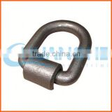 China supplier d ring bag buckles