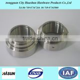 customized metal cnc turned parts ,stainless steel Pipe Coupling ,pipe sleeve coupling