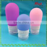 Mini Small Empty Soft Squeeze Silicone Travel Bottle Tube
