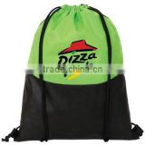 promotional 80gsm non woven fabric drawstring bags, Cartoon Drawstring Backpack Bag Non Woven bag