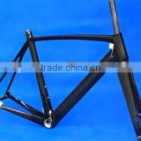 Full Carbon 3k Glossy Disc Brake Road Bike BSA Frame Fork FLX-FR-320