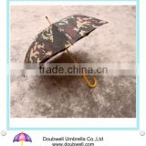automatic open wooden handle printed umbrella, wooden umbrella, wood handle umbrella and wooden shaft umbrella