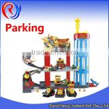 Plastic Car Parking Garage Toy The Rescue Center Parking Lot