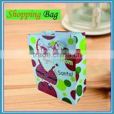 Custom fashion christmas souvenir bags for shopping and promotiom,good quality fast delivery