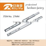 Jieyang factory telescopic slides for extendable tables,telescopic drawer rail