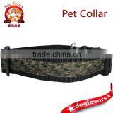 Camo Dog Collars, 1.5 inch wide, available in 4 sizes, tan, green, brown, camouflage, black, small, medium, large, ribbon, nylon