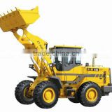 Farm machinery 4WD hydraulic ZL30 mini wheel loader with joystick/pallet fork / snow pin