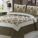 2016 high quality stylish cotton photo print bedding set