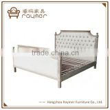 French style Antique Wooden Hotel Bed Headboard                                                                         Quality Choice