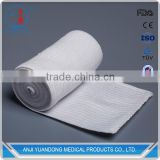 YD30017 Factory high quality ventilated soft washable plain surgical high elastic bandage