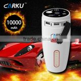 New arrival 10000mAh humidifiers with car battery charger mini multi-function auto car charger