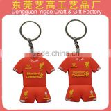 Factory hot sale no minimum custom logo keychains