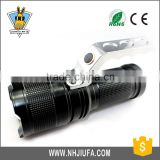 JF New design focus aluminum hand lamp torch led light zoom focus LED light hight power searchlight