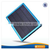 AWC608 10000mah universal solar panel slim charger station cellphone accessories solar charger