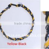 3 ropes Tornado Germanium Titanium Baseball Sport Necklaces