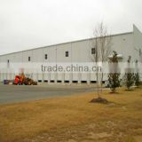 Professional prefabricated light steel construction design steel structure warehouse house