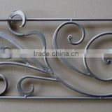 fancy ornamental wrought iron balcony railing component for sale