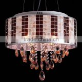 Led Light Chandelier Wedding Decorations Home Decor Lighting Hang Lamps Crystal Pendant Crystal Chandelier CZ1020/4