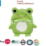 Children Toddler Kid's Leather School Bag Animal Fruit Cartoon Backpack 14 Styles - Frog Pattern