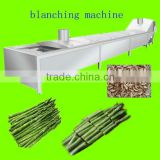 Asparagus processing machine/blanching machine/blancher/pre-cooking machine