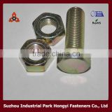 Hex Head Furniture Nuts And Bolts Yellow Color Plated In China Price