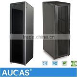"China Factory Supply Cold Rolled Steel Rack Design For Network Cabling Systems 19"" Server Cabinets"