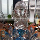 Delicate Crystal Ganesh for Souvenir Decoration Crystal Gift