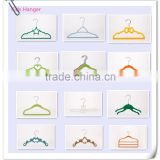 Non-Slip Velvet Hanger Kids Hanger Display Flocked Hanger 12 Style