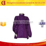 Purple Long Nylon Raincoat, Ladies Nylon Raincoats, Ladies Long Raincoats