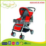 BS-18B CE approved air wheel baby stroller pram 3 in 1 with travel system