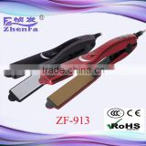 Student use hair straightener fashion hair flat iron ZF-913                                                                                                         Supplier's Choice