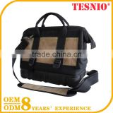 Customized Tool Kit Bag, Electricial Tool Kit Bag Made of Nylon Work Bag with Foam Padding Tool Carrier Backpack Tool Bag