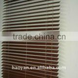 H-Y high quality rolling pattern wooden venetian blind