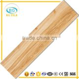 Heat insulation factory supply popular style different pattern wood look porcelain floor tile