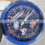 "wholesale top brand quality 100% 15"" Neon Tower Shape Clock"