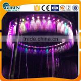 Digital fountain indoor water fountain graphical water rain curtain