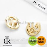 2015 new arrival metal sewing gold button for clothing and coat                                                                         Quality Choice