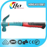 Hand Tool of high hardness octagon hammer with fiber glass handle                                                                         Quality Choice