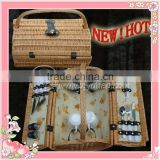 Antique Picnic basket for 2/4 at new style with best price and superior quality
