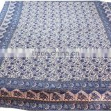 RTBS-2 Indian Ethnic Elephant Printed Double Bed Sheet Mandala Work Beautiful Home Furnishing Bed Spread From Jaipur