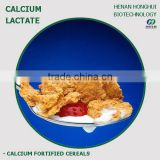 l-calcium lactate powder for calcium frtified cereal oatmeal