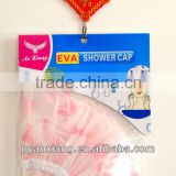 new beautiful peva shower caps or bathing caps easy-used for you