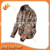 battery heated camo waterproof hunting jacket