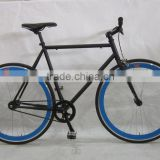 High Quality 700C Alloy Frame Carbon fixie Fixed Gear Bike mes bicycle single speed bike