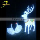 Outdoor christmas life size animal figure